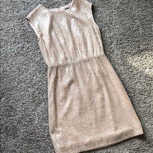 Dresses & Skirts - Jcrew blush sequined dress
